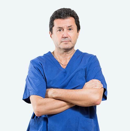 Dr. Andrea Bianchi, specialist in hallux valgus and founder of the PBS technique to treat bunions effectively.
