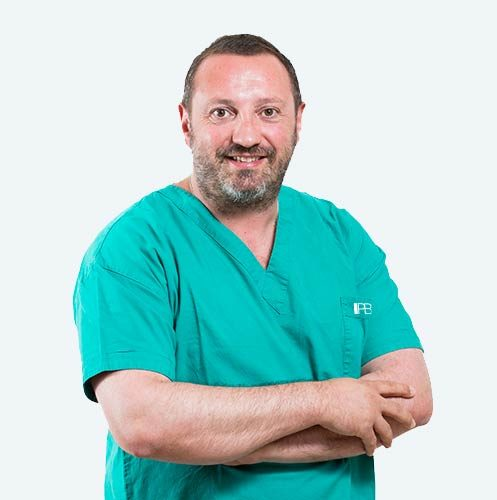 Dr. Nicola Del Bianco, PBS surgeon for keyhole surgery on bunions.
