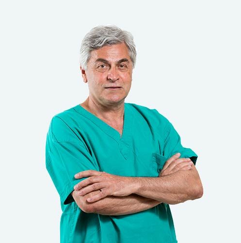 Dott. Stefano Ferranti, surgeon specialising in the PBS technique to treat hallux valgus.
