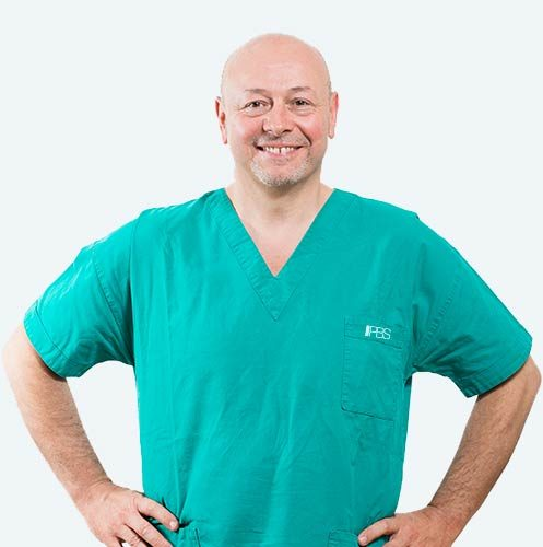 Dott. Flavio Polliano, surgeon specialising in the PBS technique to treat hallux valgus.