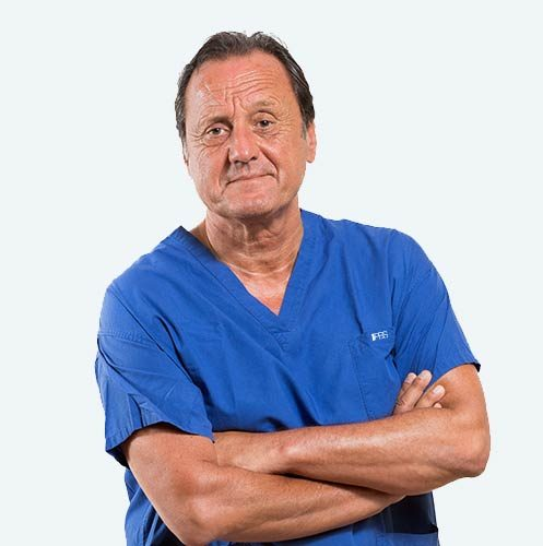 Dr. Lorenzo Fonzone Caccese, specialist in the treatment of hallux vagus, founder of the PBS technique, perfected by Dr. Andrea Bianchi.