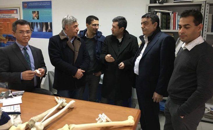 i chirurghi PBS Bianchi, Samer e Ferranti al Cairo in Egitto